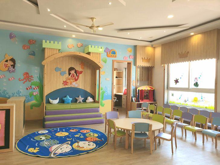 """Munchkins Palatium Preschool Raipur learning spaces kajal gaba indiaartndesign"""
