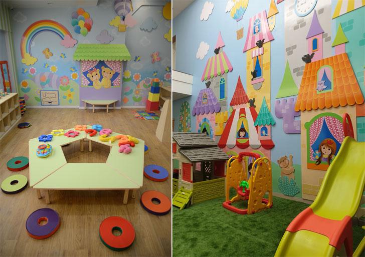 """""""OES International school and Munchkins Palatium Preschool Raipur learning spaces kajal gaba indiaartndesign"""""""