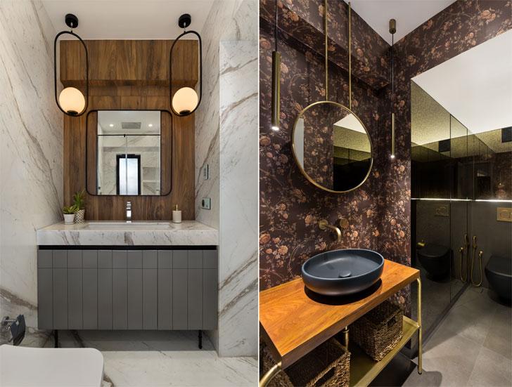 washrooms HouseNo.12 QuirkStudio indiaartndesign