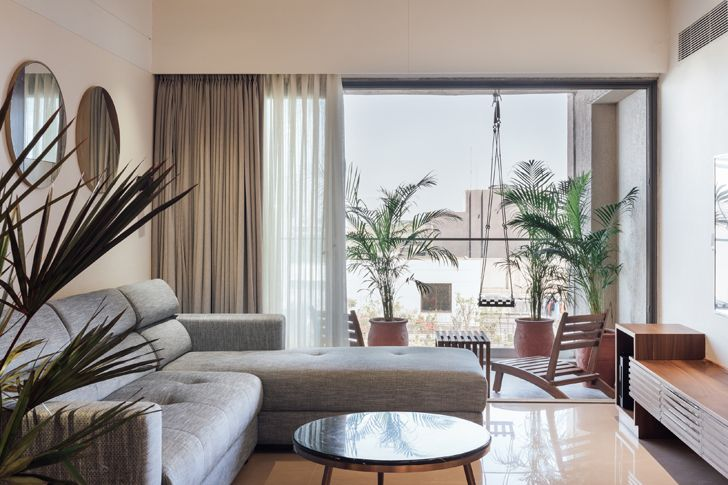 """living room Ahmedabad home StudioSaransh indiaartndesign"""
