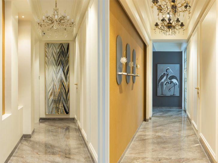 """""""corridor Luxury apartment mumbai ayeshapuri indiaartndesign"""""""