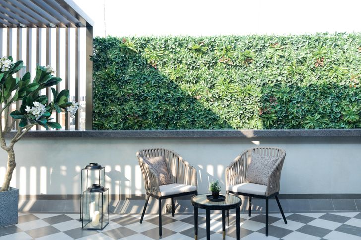 """terrace Luxury apartment mumbai ayeshapuri indiaartndesign"""