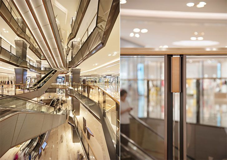 """railing detail GrandGatewayNorthBuilding Shanghai EGGL indiaartndesign"""