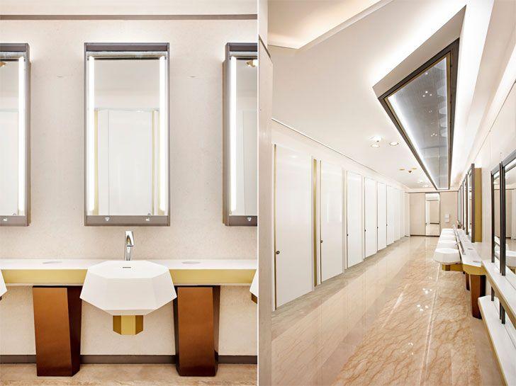 """washrooms GrandGatewayNorthBuilding Shanghai EGGL indiaartndesign"""
