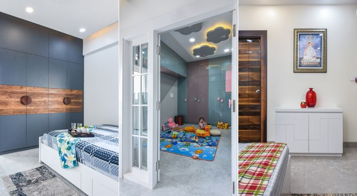 """bedrooms Bengaluru home TheLineStudio indiaartndesign"""