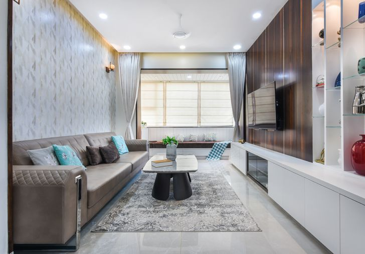 """living room Bengaluru home TheLineStudio indiaartndesign"""