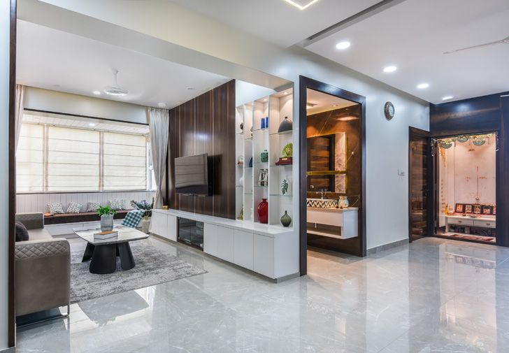 """spaciousness Bengaluru home TheLineStudio indiaartndesign"""