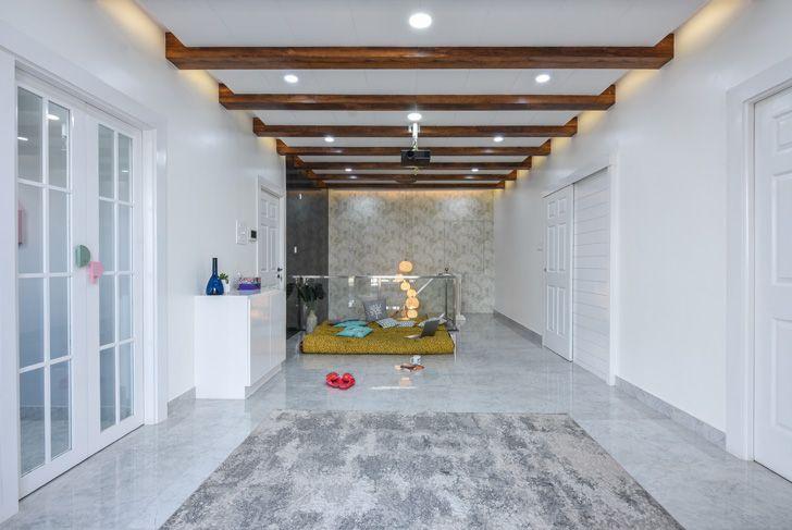 """""""wooden rafters Bengaluru home TheLineStudio indiaartndesign"""""""