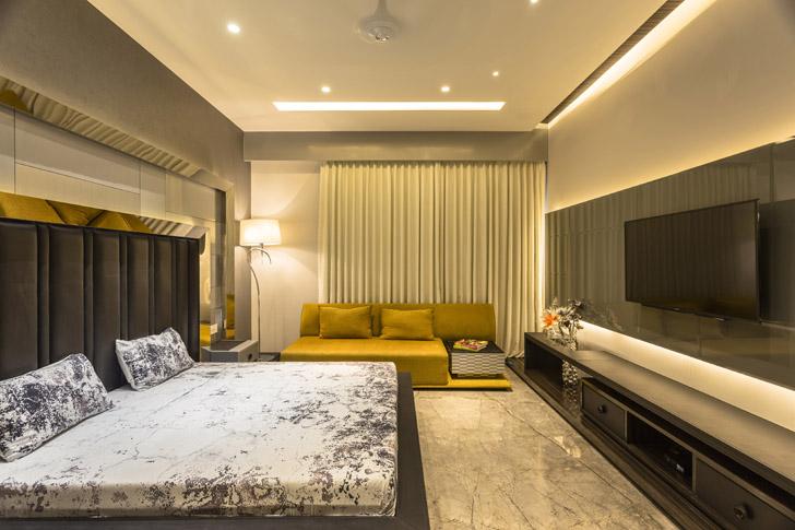 """bedroom AccordHouse PlanetDesignStudio indiaartndesign"""