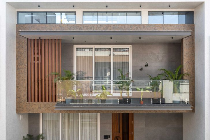 """facade surat home studio17 indiaartndesign"""