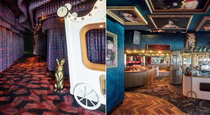 """interactive spaces Crazy Pianos music club ElEquipoCreativo indiaartndesign"""