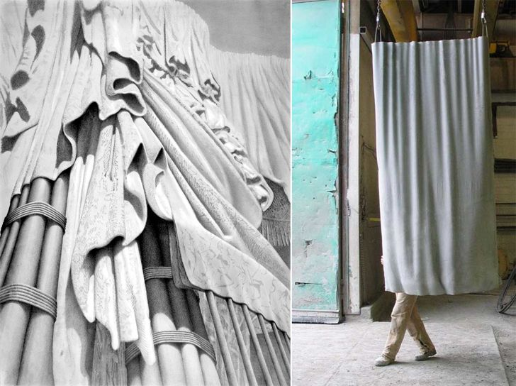 """fabric formed concrete markwest indiaartndesign"""