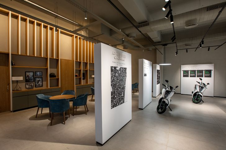 """visual connectivity ather experience centre chennai studio lotus indiaartndesign"""