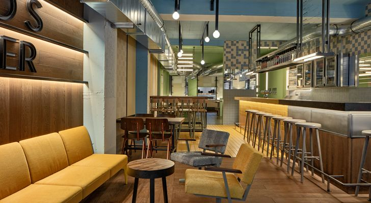 """Ottos burger restaurant Studio Modijefsky indiaartndesign"""