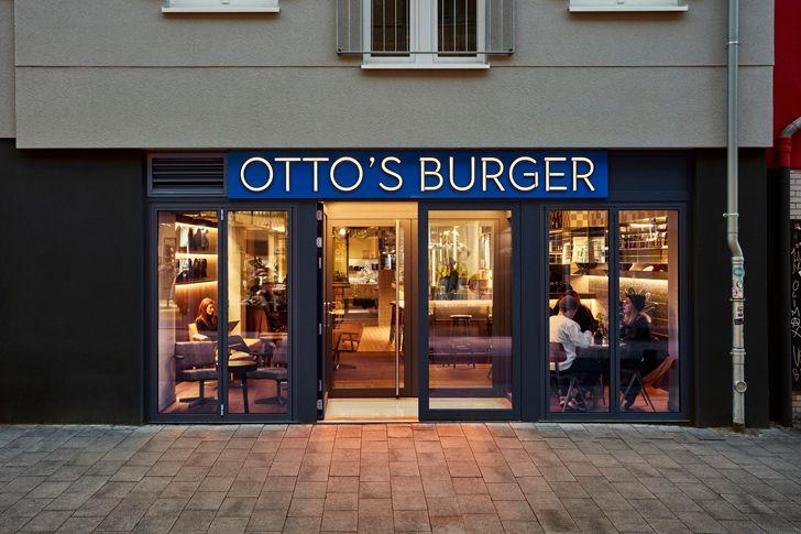 """""""facade Ottos burger restaurant Studio Modijefsky indiaartndesign"""""""