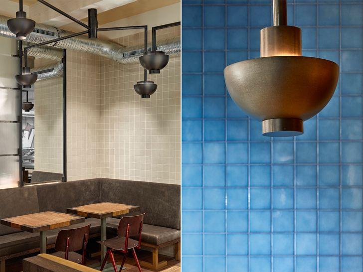 """""""lighting design Ottos burger restaurant Studio Modijefsky indiaartndesign"""""""