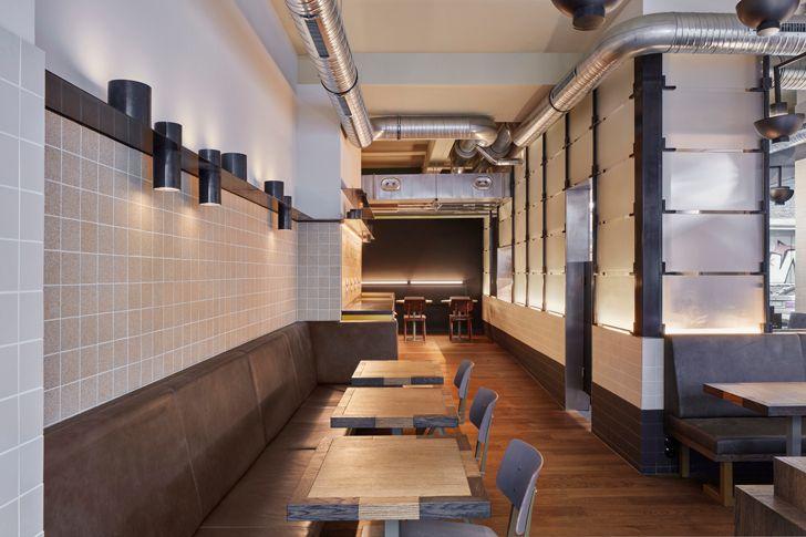 """""""zones Ottos burger restaurant Studio Modijefsky indiaartndesign"""""""