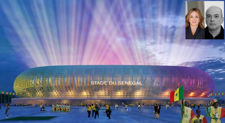 """DakarStadium TabanliogluArchitects indiaartndesign"""