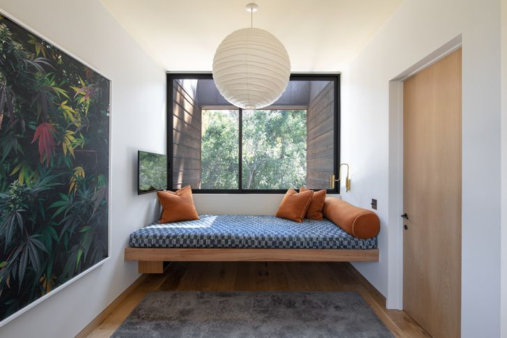 """cosy corner canyon house Conner+PerryArchitects indiaartndesign"""