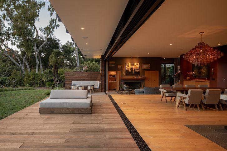 """deck canyon house Conner+PerryArchitects indiaartndesign"""