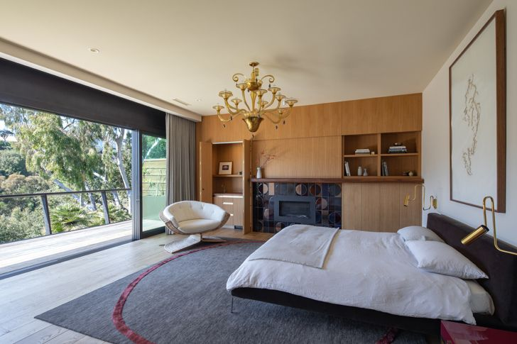 """master bedroom canyon house Conner+PerryArchitects indiaartndesign"""