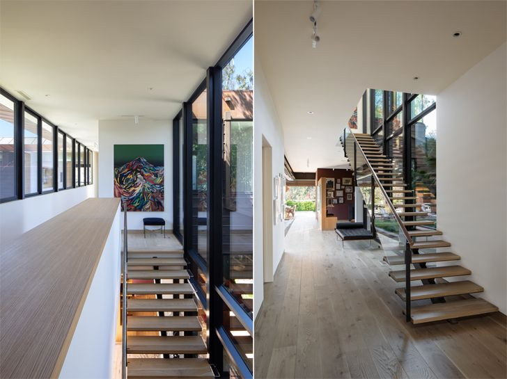 """staircase canyon house Conner+PerryArchitects indiaartndesign"""