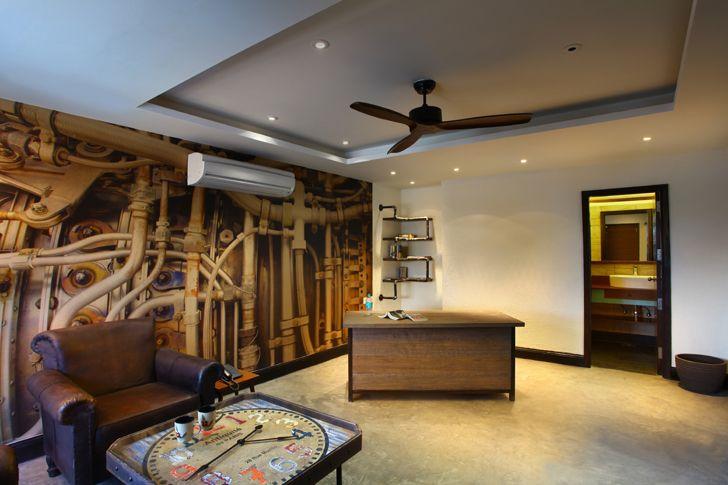 """""""Sainik Farms residence Nostalgis GroupDCA indiaartndesign"""""""