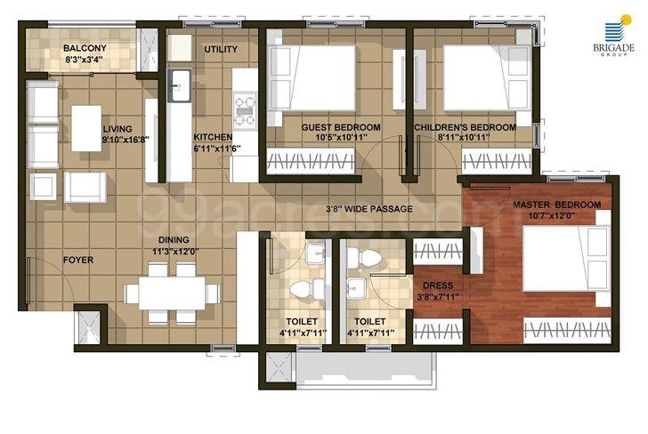 """layout Bengaluru home InteriorsByRanjani indiaartndesign"""