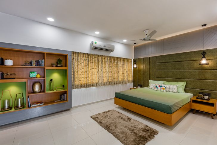 """bedroom ahmedabad home IkaStudio indiaartndesign"""