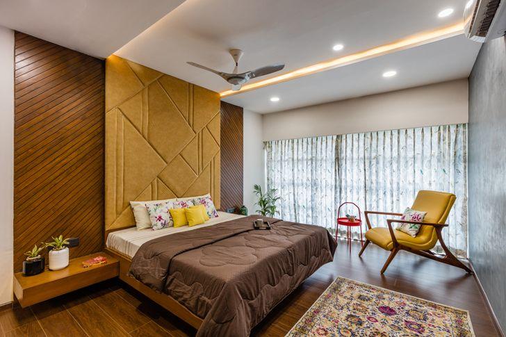 """bedroom ahmedabad home IkaStudio indiaartndesign"""