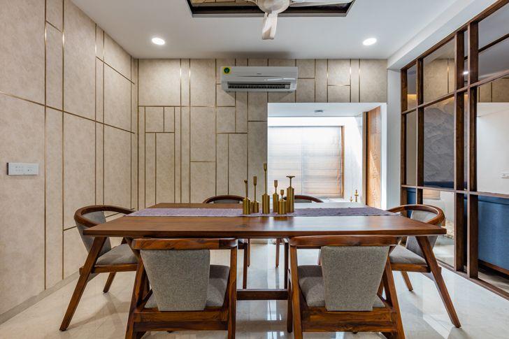 """dining ahmedabad home IkaStudio indiaartndesign"""