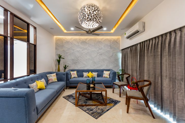 """living ahmedabad home IkaStudio indiaartndesign"""