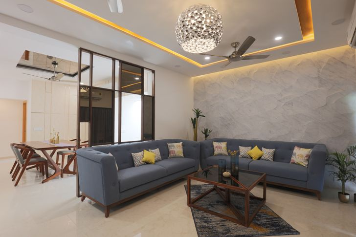 """living dining ahmedabad home IkaStudio indiaartndesign"""