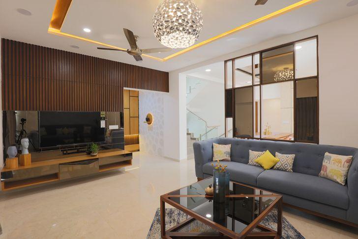 """living room ahmedabad home IkaStudio indiaartndesign"""