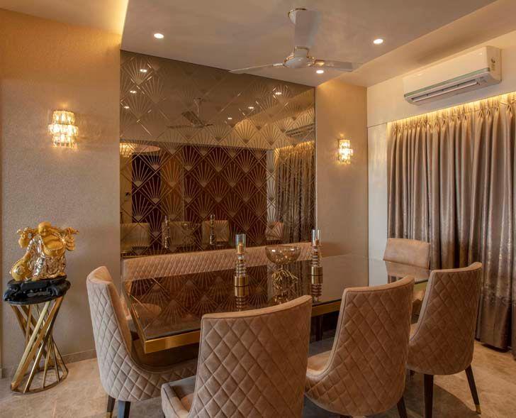 """dining area mumbai residence milind pai architects indiaartndesign"""