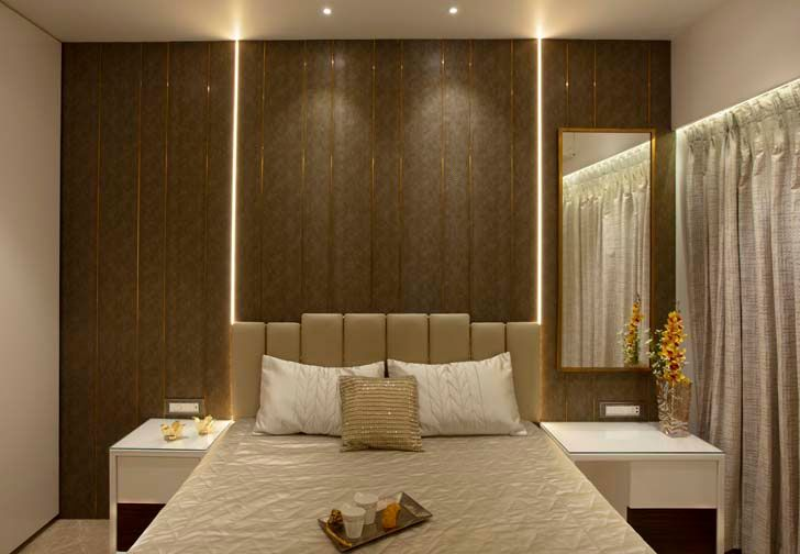 """parents bedroom mumbai residence milind pai architects indiaartndesign"""