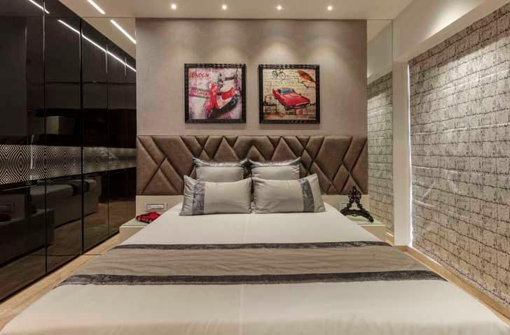 """sons bedroom mumbai residence milind pai architects indiaartndesign"""
