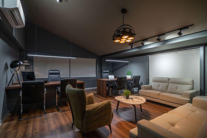 """MD cabin Numi office hyderabad Urban Zen Architects indiaartndesign"""