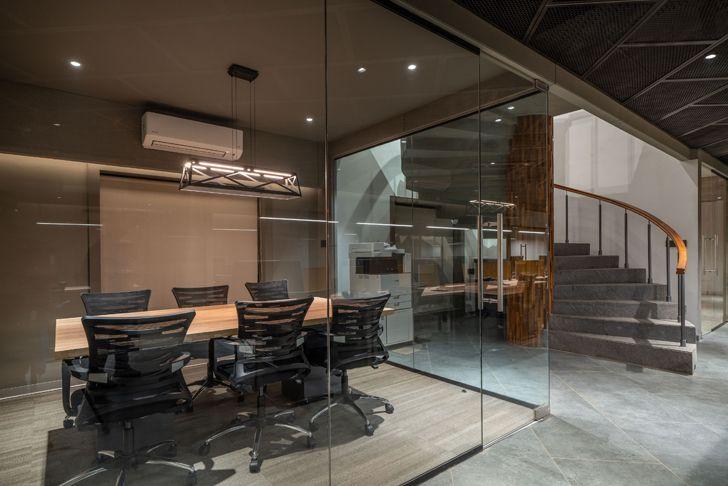 """conference room Numi office hyderabad Urban Zen Architects indiaartndesign"""