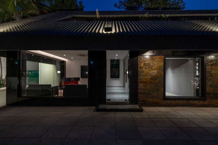 """entrance Numi office hyderabad Urban Zen Architects indiaartndesign"""