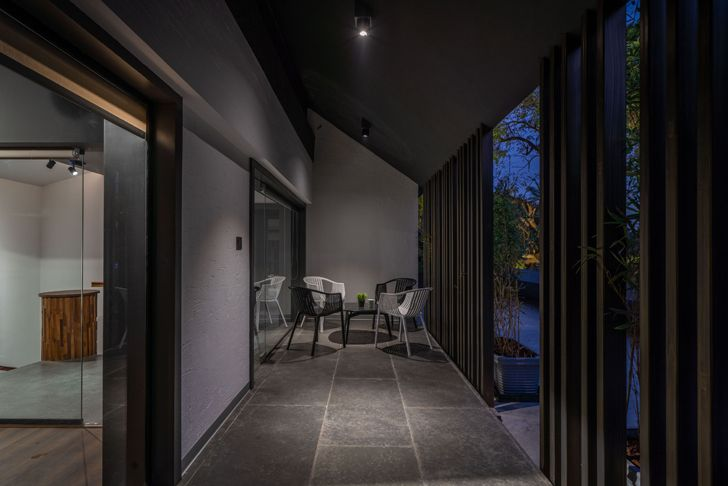 """""""porch like sit out Numi office hyderabad Urban Zen Architects indiaartndesign"""""""