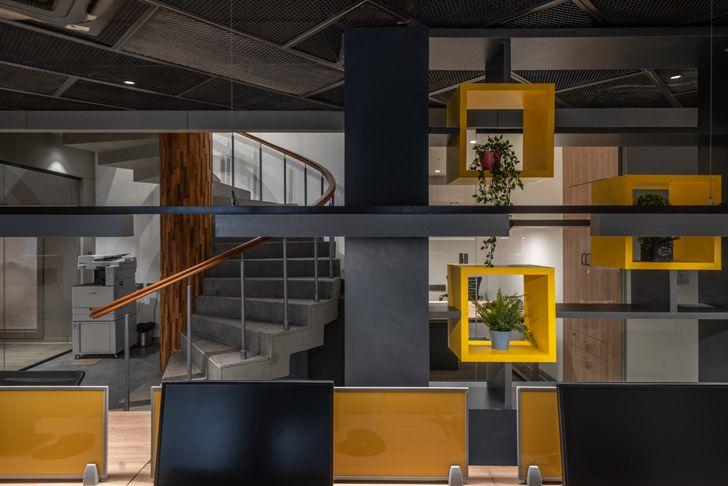 """screen Numi office hyderabad Urban Zen Architects indiaartndesign"""