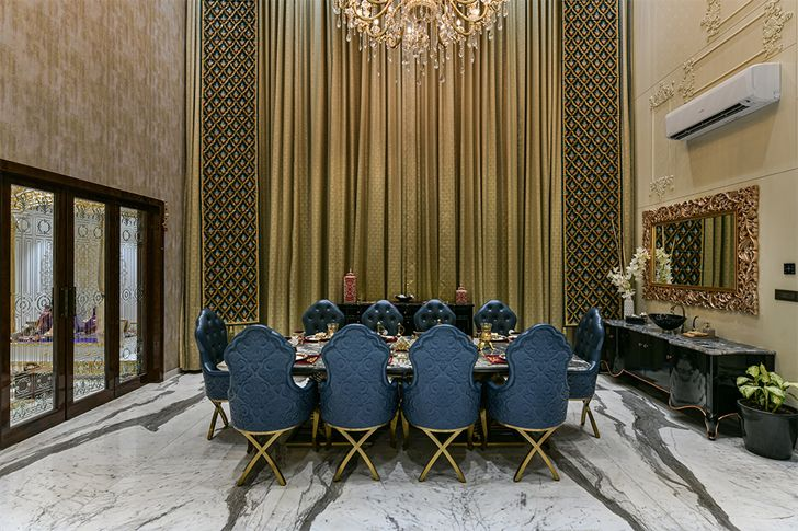 luxurious dining raigarh home moroccan theme shilpisonarcreations indiaartndesign