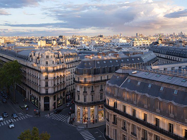 aerial view Etam Paris glassfloor MVRDV indiaartndesign