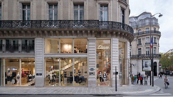 facade left Etam Paris glassfloor MVRDV indiaartndesign