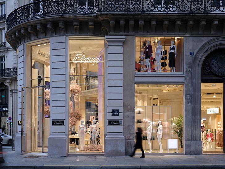 facade right Etam Paris glassfloor MVRDV indiaartndesign