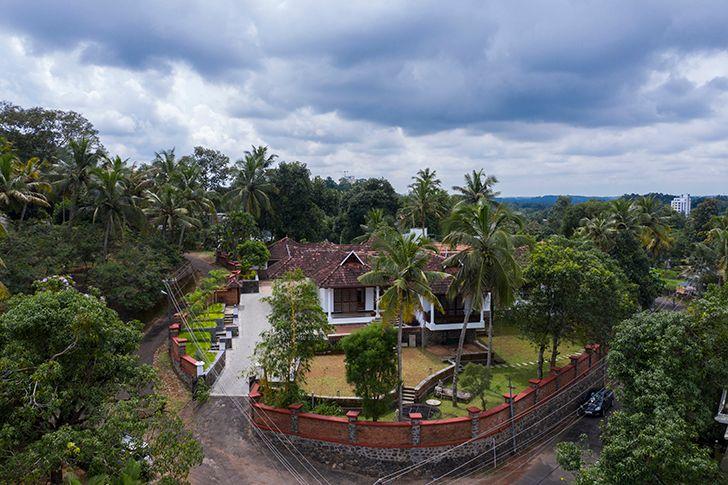 aerial view kottayam villa Studio 3TwentyOne indiaartndesign