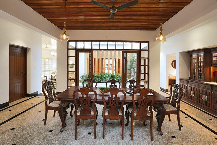 dining room kottayam villa Studio 3TwentyOne indiaartndesign