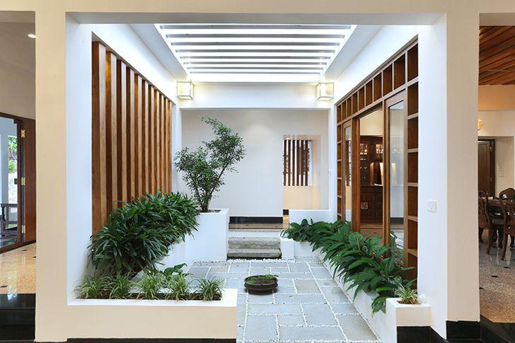 internal courtyard kottayam villa Studio 3TwentyOne indiaartndesign