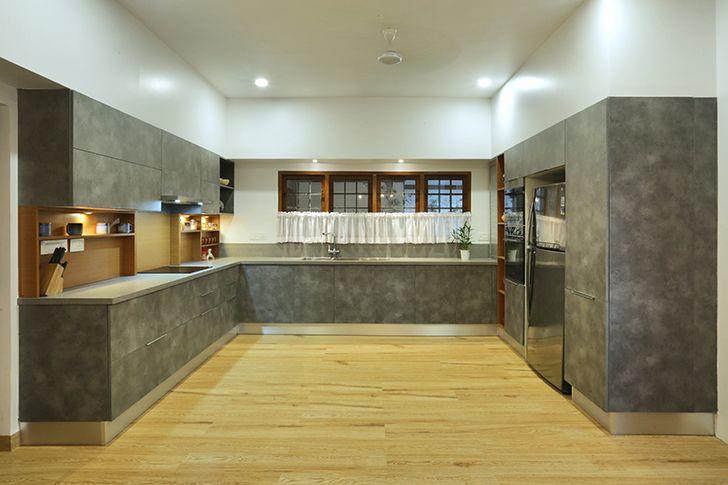 modern kitchen kottayam villa Studio 3TwentyOne indiaartndesign